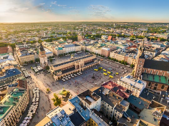 Zwiedzanie Rynku Podziemnego w Krakowie