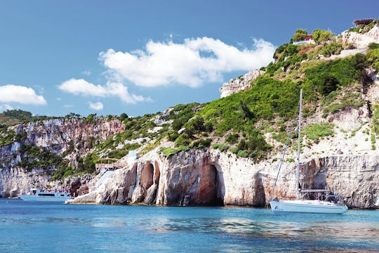 Zante Blue Caves and Smuggler's Cove Cruise
