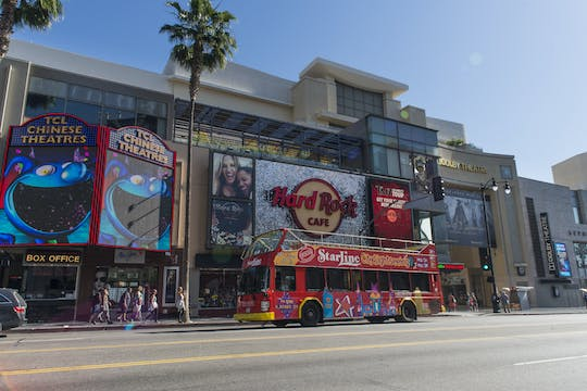 Hop-on-Hop-off-Bustour durch Hollywood und Los Angeles
