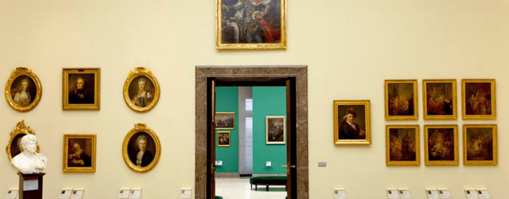 De galerij met 19e-eeuwse Poolse kunst in de Sukiennice toegangsbewijs