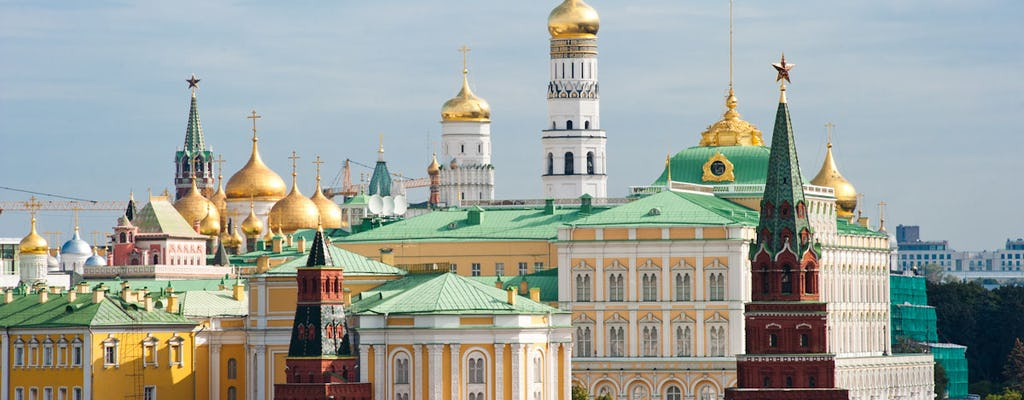 Skip-the-line Moscow Kremlin tickets and guided introduction tour