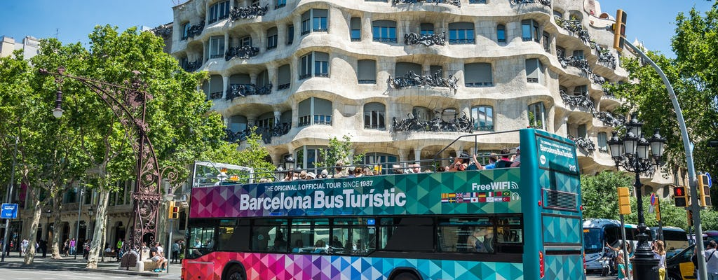 Barcelona Bus Turístic hop-on hop-off tickets