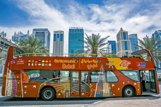 1, 2 or 3-day hop-on hop-off Dubai bus tour