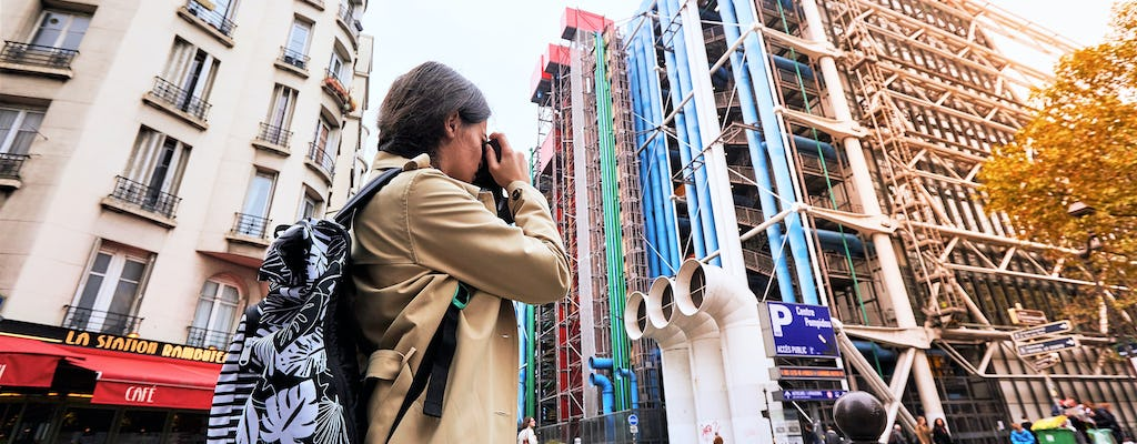 Private tour of the exterior and permanent collection of the Centre Pompidou