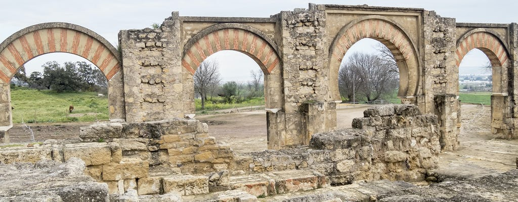 Visita guiada gratuita a Medina Azahara en Córdoba