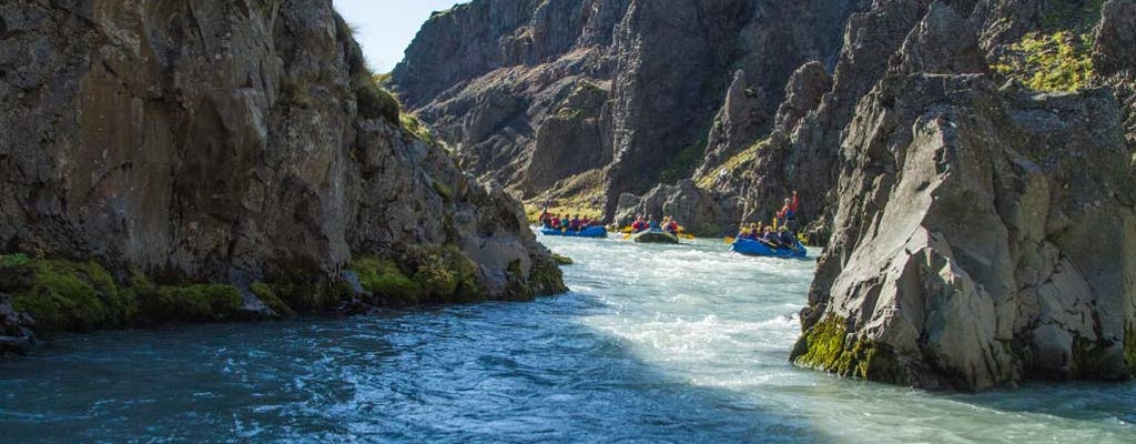 Wonderful West glacial river canyon rafting