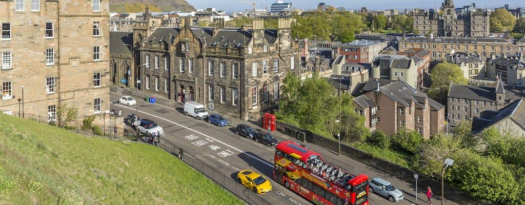 Hop-on hop-off Edinburgh 24-hour bus pass