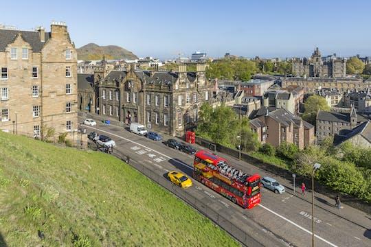 Passe de ônibus hop-on hop-off de 24 horas em Edimburgo