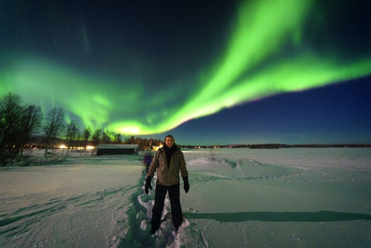 Rovaniemi Snowmobile Night Tour