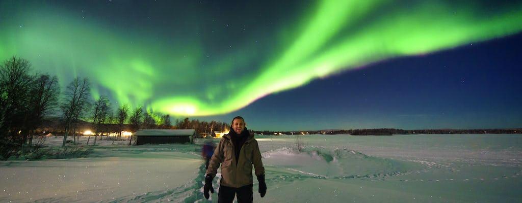 Northern Lights Snowmobile Tour