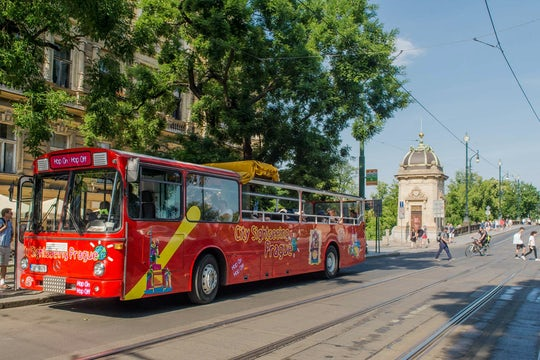 Hop-on Hop-off bus tour of Prague
