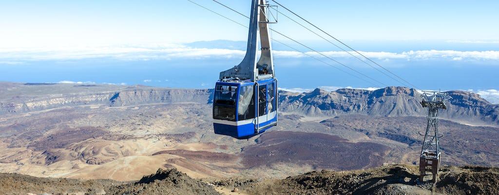 Kolejka linowa w Teide - wyłącznie w ramach wycieczki