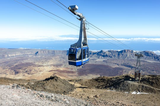 Teide Cable Car Ticket for use with Teide National Park Tour