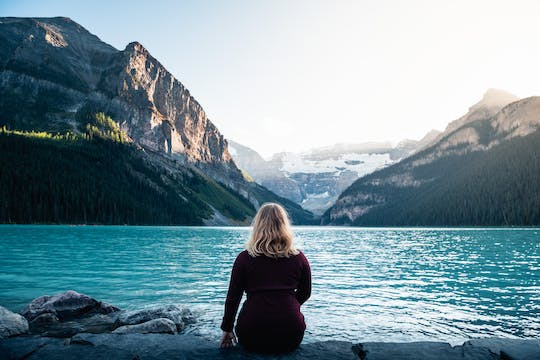 Tour serale e cena di Lake Louise e Moraine Lake