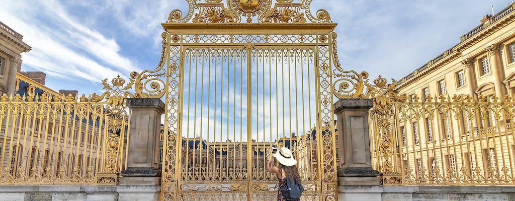 Półdniowa prywatna wycieczka po Pałacu i Ogrodach Wersalskich