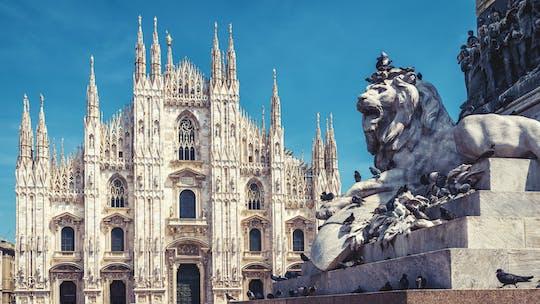 Visita turística de la ciudad de Milán desde Turín en tren de alta velocidad