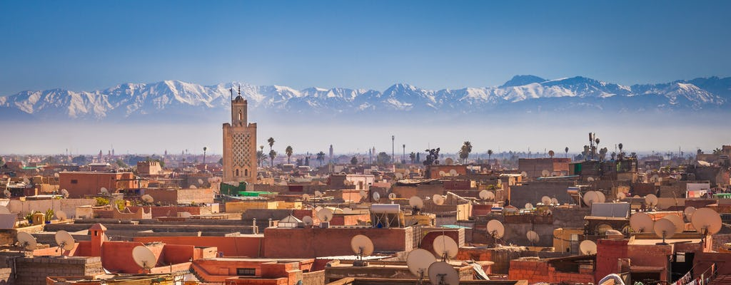 Tour privato a piedi di 3 ore a Marrakech