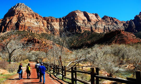 Zion and Bryce National Park 2-day tour with lodging