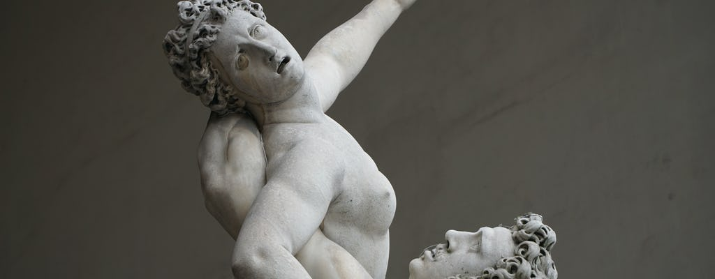 Treasures of Florence walking tour with Accademia and Uffizi skip-the-line tickets