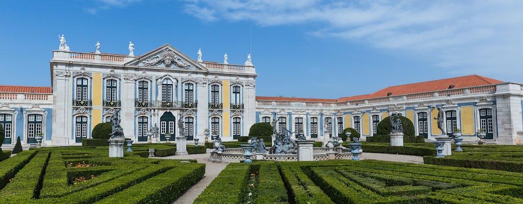 Ingressos sem filas para o Palácio Nacional e Jardins de Queluz