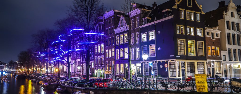 Amsterdam Light festival open boat cruise