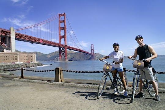 Сан-Франциско 1-дневный прокат автобусов и велосипедов hop-on hop-off