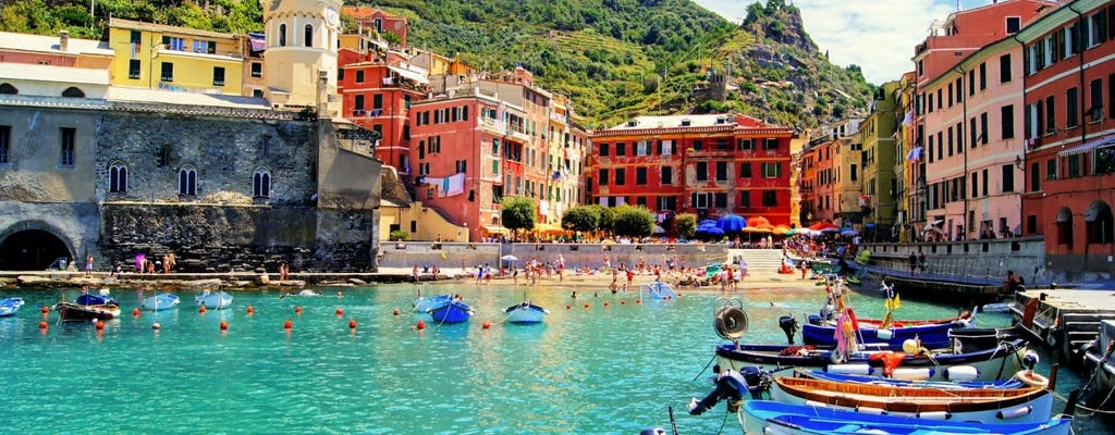 Best of Cinque Terre tour with optional lunch