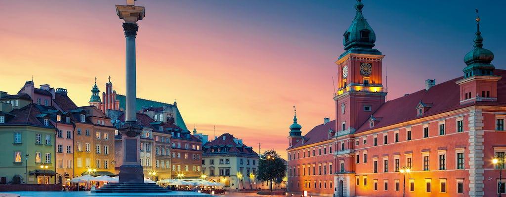 Visita guiada en grupo por Varsovia por la tarde con pinta de cerveza polaca