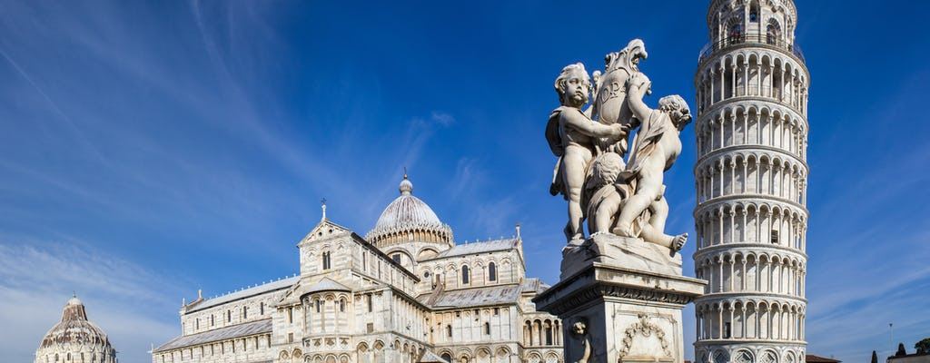 Pisa guided tour with optional Leaning Tower from Florence