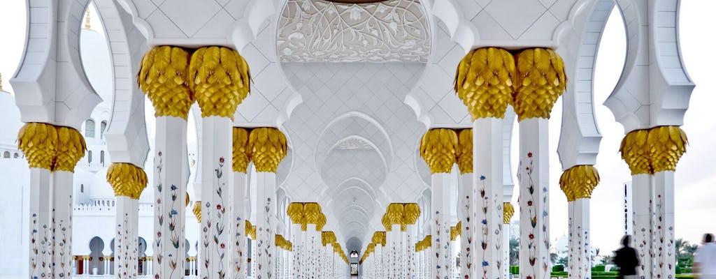 Excursión de un día a Abu Dabi y sus palacios reales desde Dubái