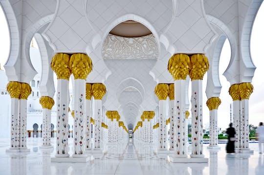 Viagem de um dia por Abu Dhabi e seus palácios reais com saída de Dubai