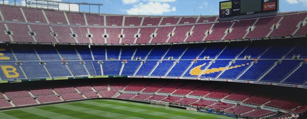 Entradas sin colas y visita privada al Camp Nou