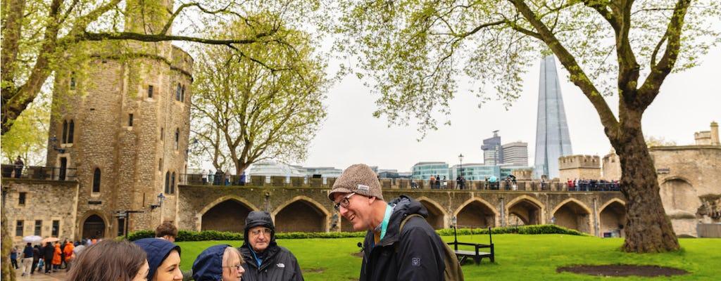 Visita guidata ai gioielli della corona e alla Torre di Londra