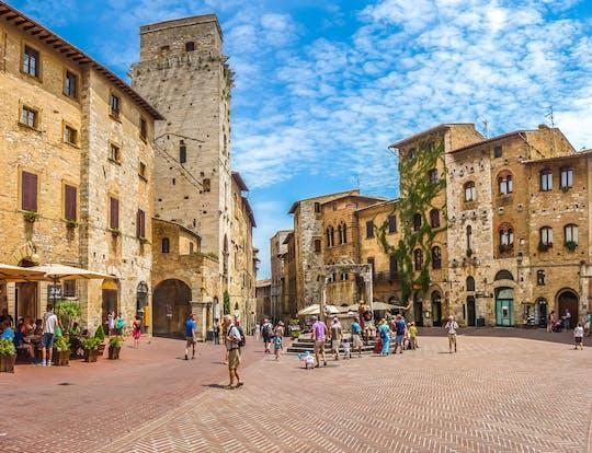 San Gimignano, Siena, Monteriggioni en Chianti met lunch en wijnproeverij