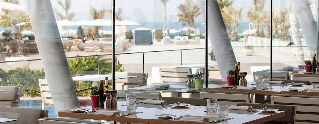 Обед или ужин в Бурдж аль-Араб в ресторане Баб аль ям