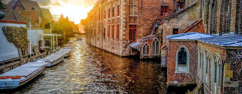 Excursión guiada a Brujas desde Ámsterdam