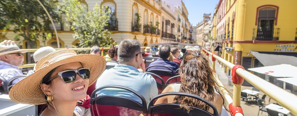 Seville hop-on hop-off bus tour: 24hr and 48hr