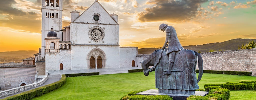 Full day tour in Assisi, Cortona and Passignano sul Trasimeno