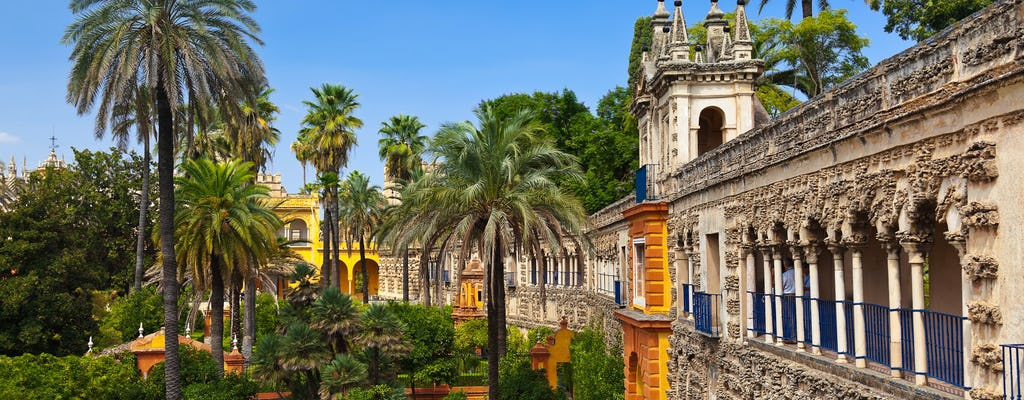 Seville Real Alcázar with skip-the-line tickets and yacht ride