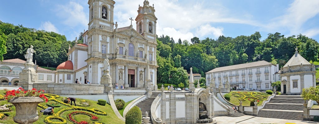 Braga and Guimarães full-day tour with lunch and dinner from Porto