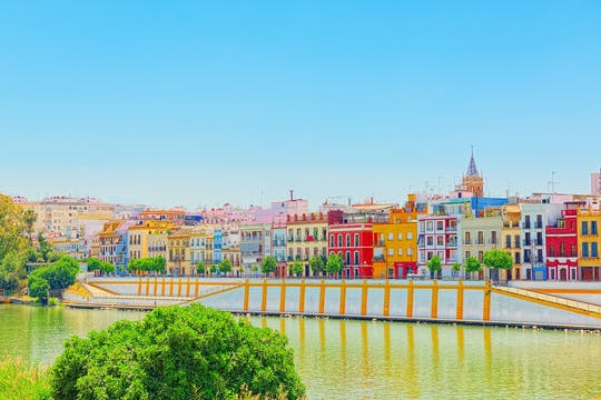 Yacht ride along the Guadalquivir in Seville