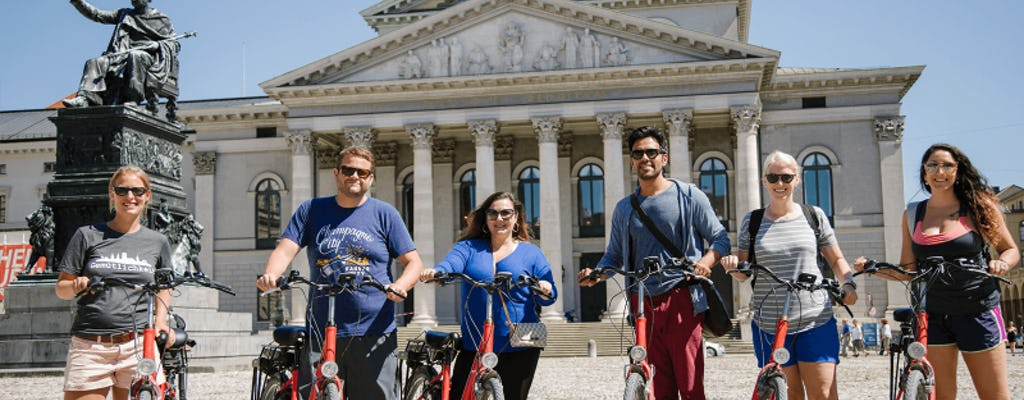 Munich City Bike Tour with beer garden visit