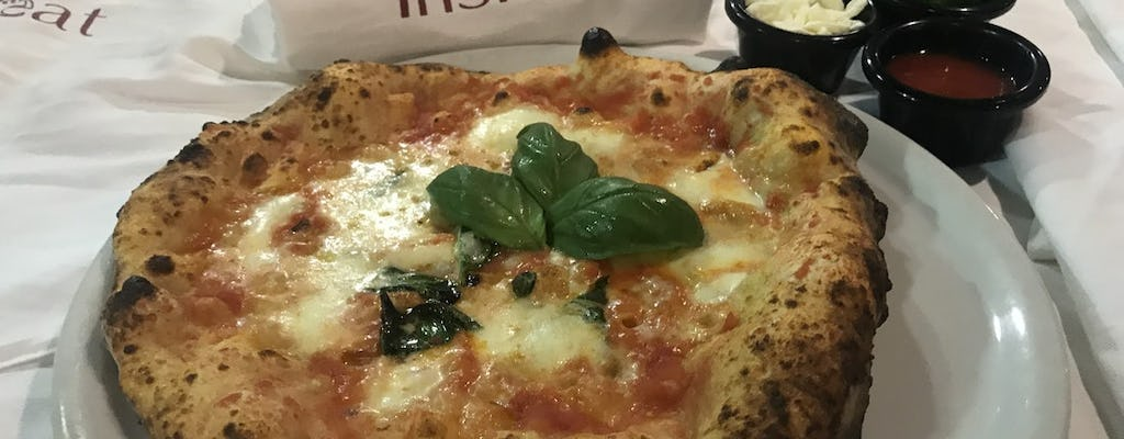 Pizza class, 3-wine tastings and fried pizza