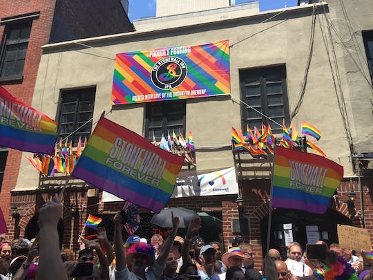 NYC pride walking tour