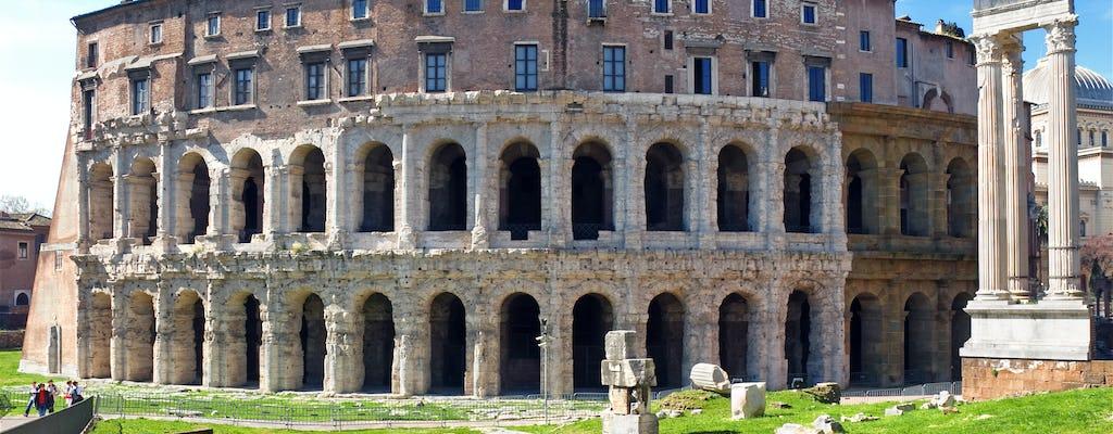 Recorrido en grupos pequeños por los sitios subterráneos de Roma