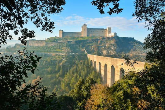 Tour of Cascia and Spoleto from Rome