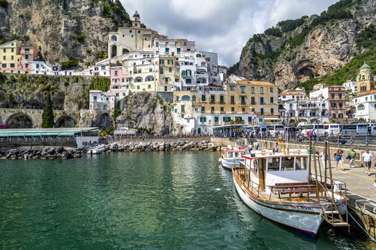 Positano and the Emerald Grotto