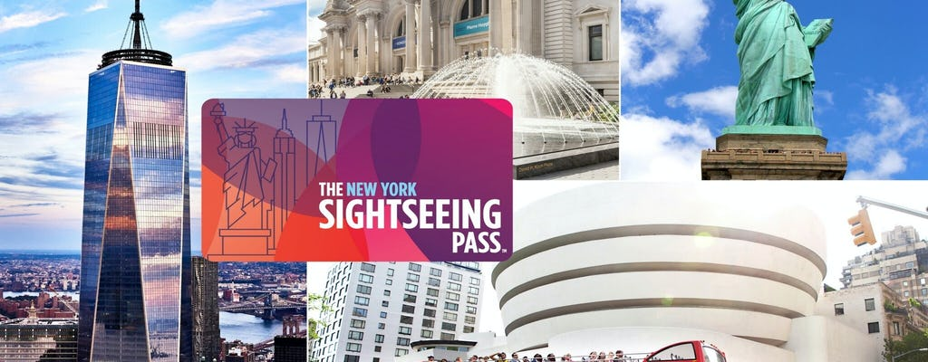 The New York Sightseeing Pass with 100+ experiences