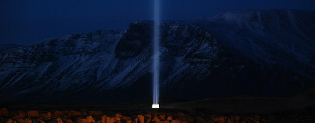 Imagina el tour de la Torre de la Paz en Reikiavik