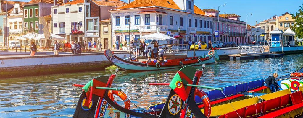 Aveiro and Coimbra guided tour from Porto